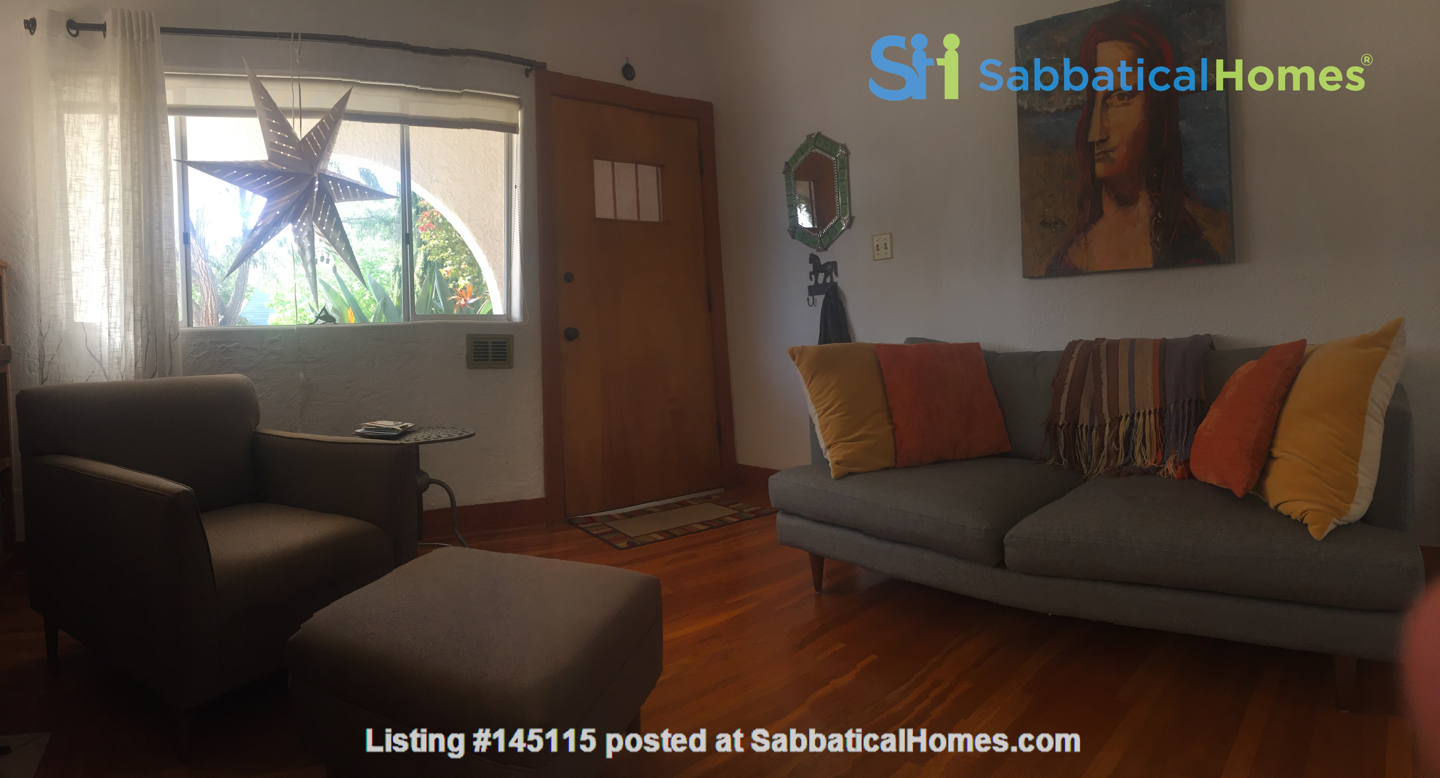 Quiet home for academic or visiting artist Home Rental in San Diego, California, United States 8