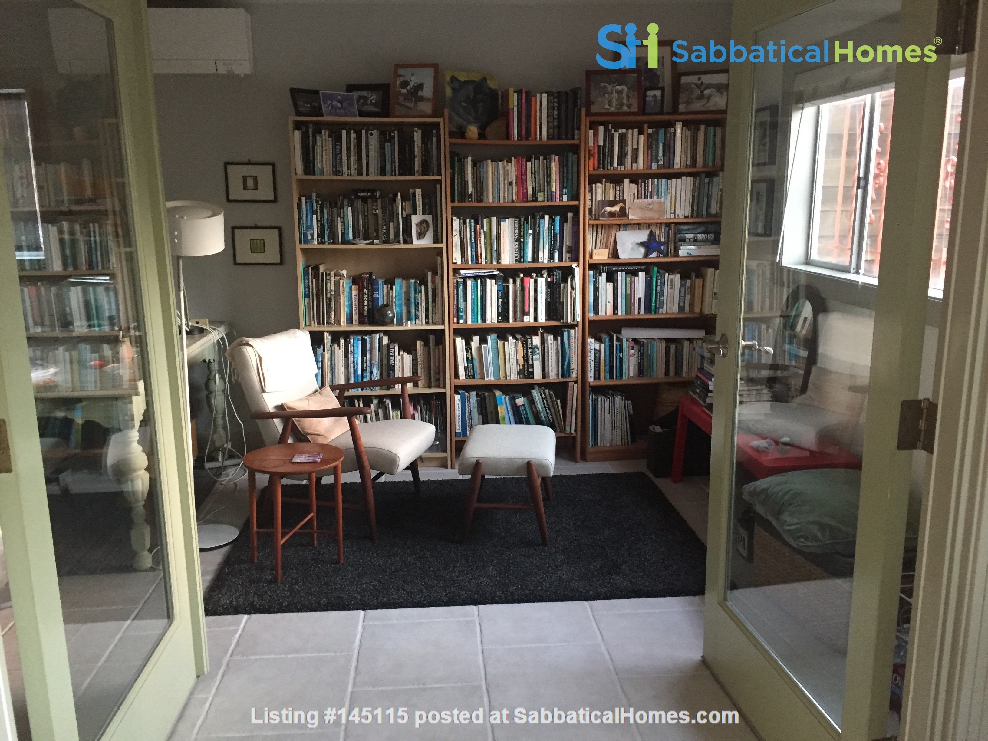 Quiet home for academic or visiting artist Home Rental in San Diego, California, United States 1