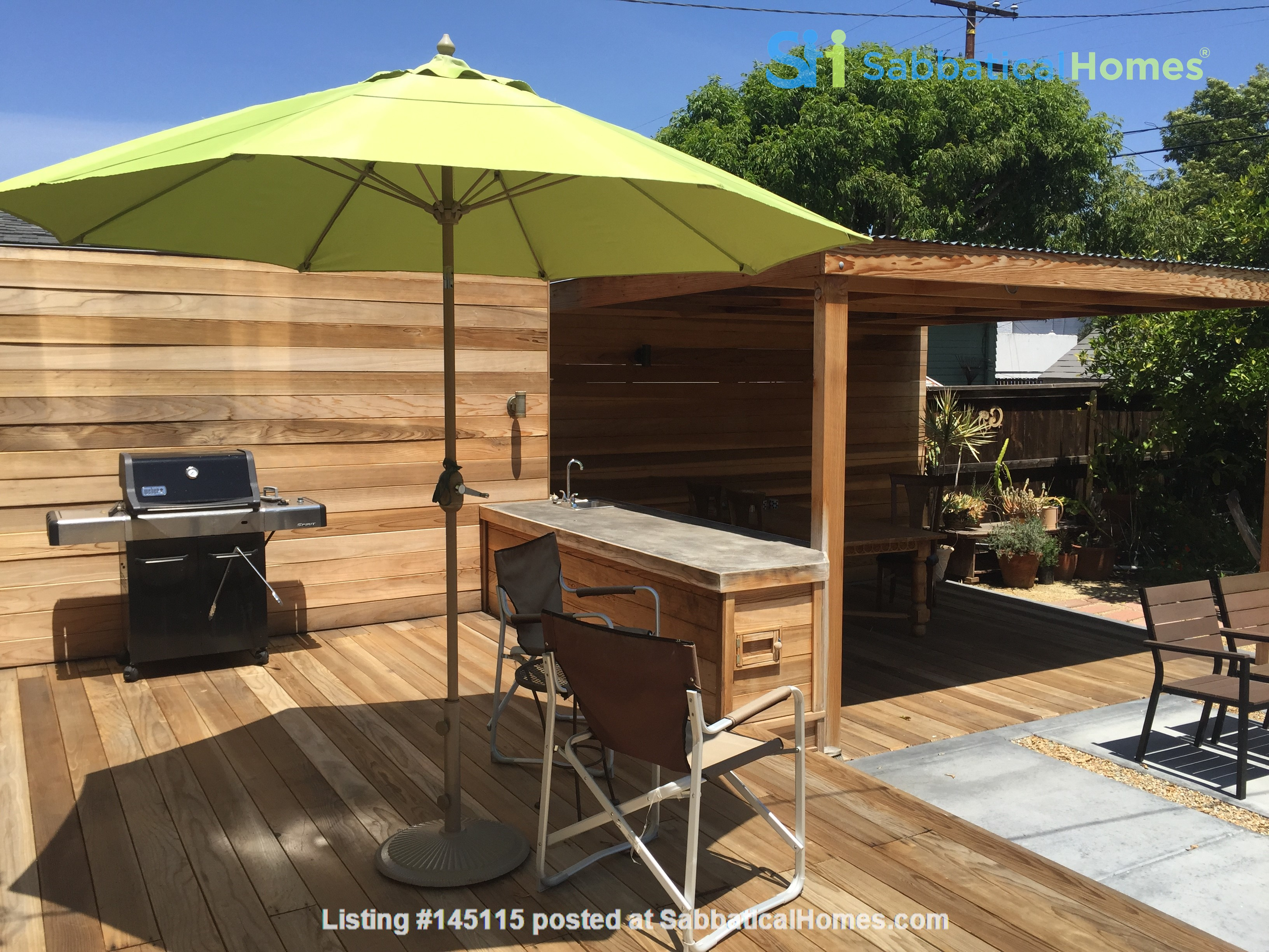 Quiet home for academic or visiting artist Home Rental in San Diego, California, United States 6